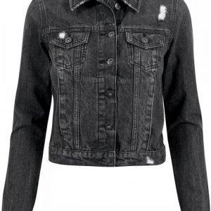 Urban Classics Ladies Denim Jacket Naisten Farkkutakki