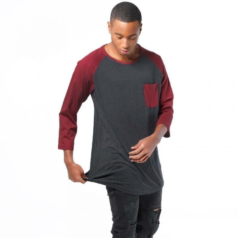 Urban Classics Long Raglan 3/4 Pocket -longsleeve