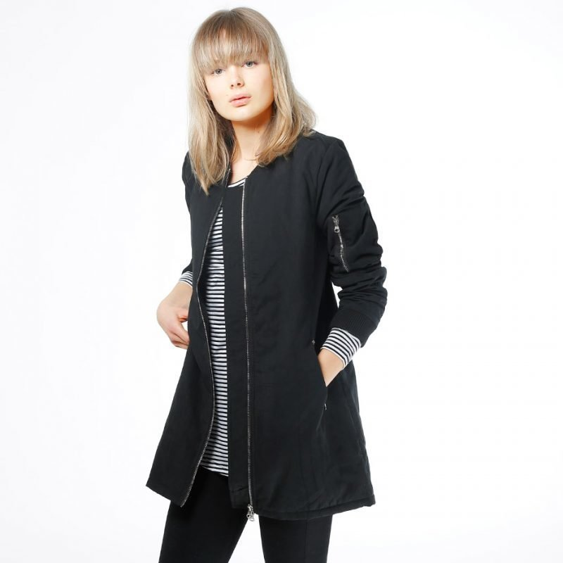 Urban Classics Peached Long Bomber -takki