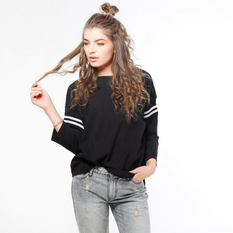 Urban Classics Sleeve Striped -longsleeve