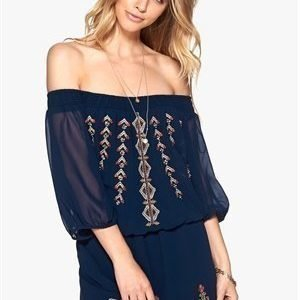 VILA Abigail S/S Dress Black Iris