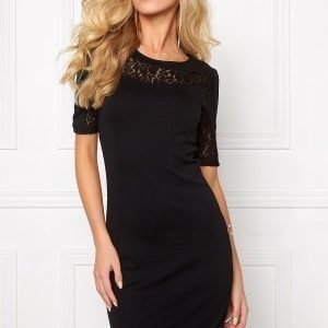 VILA Annika S/S Dress Black