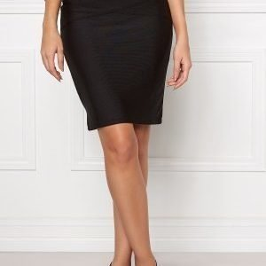 VILA Anns Skirt Black