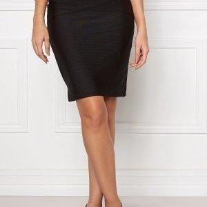 VILA Anns Skirt Black