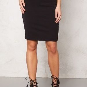 VILA Asmin New Skirt Black