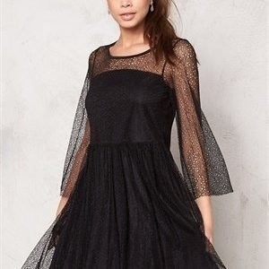 VILA Auna Dress Black