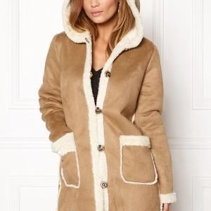 VILA Ava Coat Dusty Camel