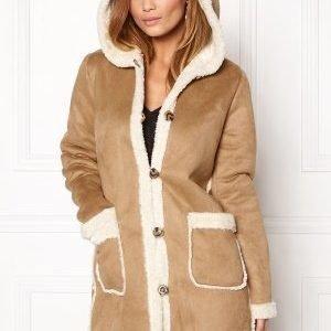 VILA Ava Coat Dusty Camel