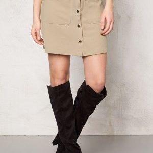 VILA Betina Skirt Soft Camel