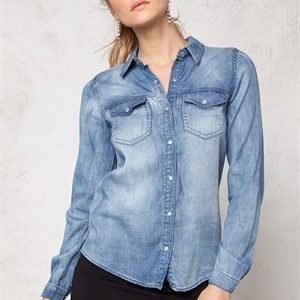 VILA Bista Denim Shirt Medium Blue Denim