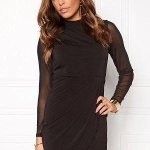 VILA Blast L/S Dress Black