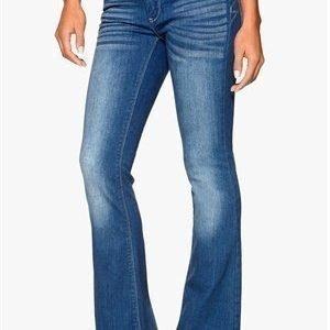 VILA Calm 5p Flared Jeans Medium Blue Denim