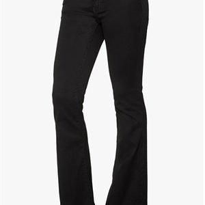 VILA Calm Flare Jeans Black