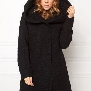 VILA Cama Favored Coat Black