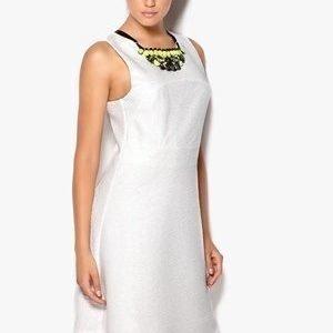 VILA Cans Dress Valkoinen