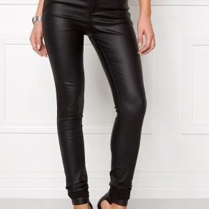 VILA Commit New Coated Jeans Black