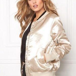 VILA Concrete Sateen Jacket Pink Tint