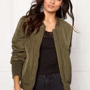 VILA Concrete new jacket Ivy Green
