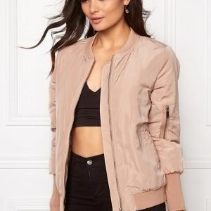 VILA Concrete new jacket Rugby tan