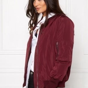 VILA Concrete new jacket Tawny port