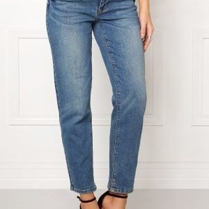 VILA Crow rw Cropped Jeans Medium Blue Denim