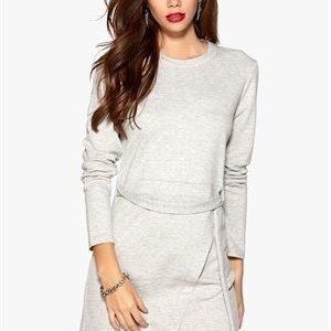 VILA Dara L/S Dress Light Grey Melange