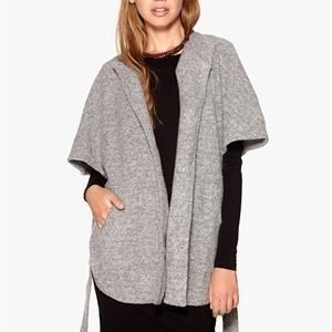 VILA Edition Cape Light Grey Melange