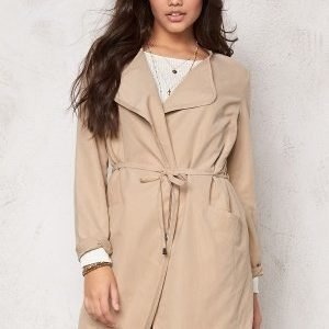 VILA Emmely Chic Coat Kamel