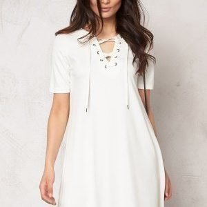 VILA Force s/s dress Snow White
