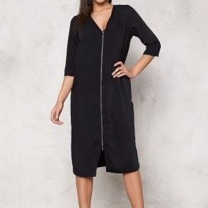 VILA Harvy Long Dress Black