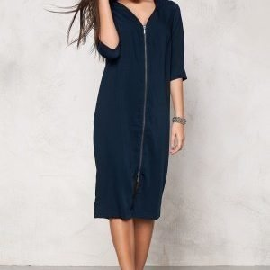 VILA Harvy Long Dress Total Eclipse