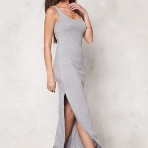 VILA Honesty New Maxi Dress Light Grey Melange