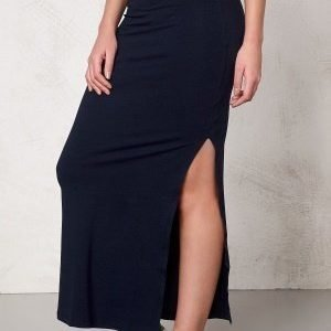 VILA Honesty New Maxi Skirt Total Eclipse