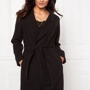 VILA Ida New Coat Black