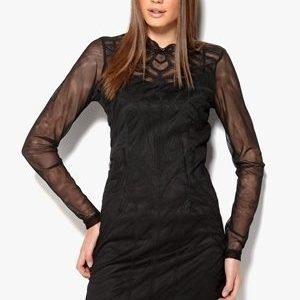 VILA Iseline Dress Musta