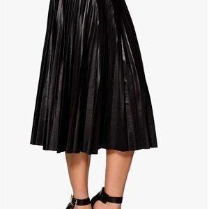 VILA Jell Skirt Musta