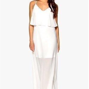 VILA Juga Maxi Dress Lumen Valkoinen