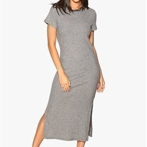 VILA Kanely Dress Light grey melange