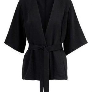 VILA Kimono Viharvy Musta