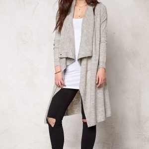 VILA Kleopatra Knit Cardigan Light Grey Melange