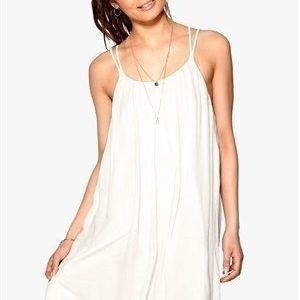 VILA Liz Strap Dress Snow White