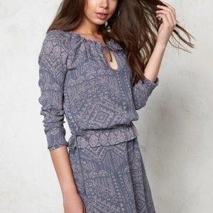 VILA Lukkal Dress Folkstone Gray
