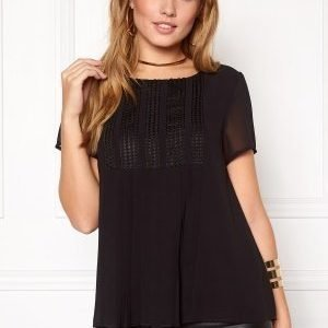 VILA Moulin top Black