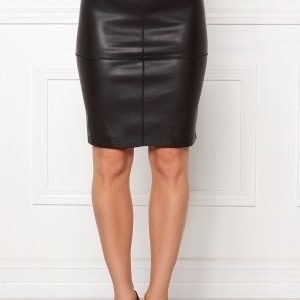 VILA Pen New Skirt Black