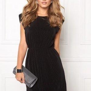 VILA Plissa Dress Black