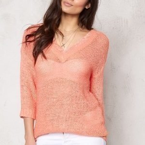 VILA Pray Knit Top Desert Flower