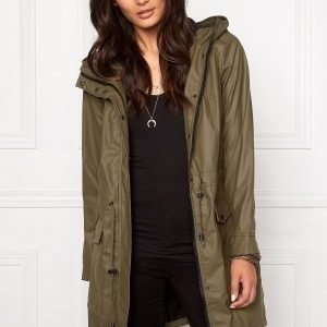 VILA Raina Coat Ivy Green