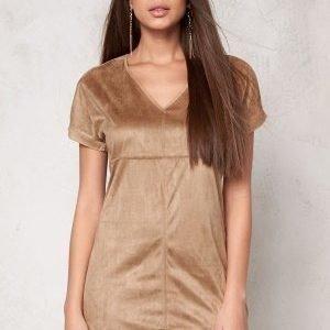 VILA Sue s/s Tunic Dusty Camel