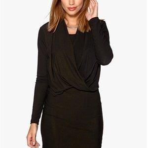 VILA Summary Dress Black