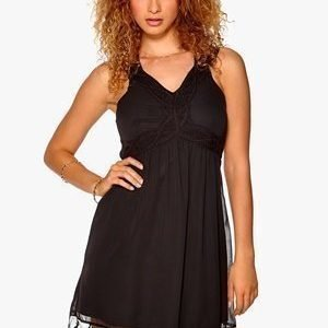 VILA Surina S/L Dress Musta